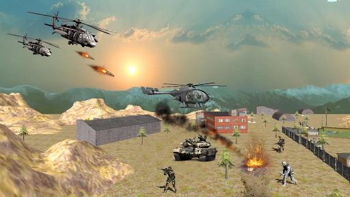 US Army Gunship Attack 3D Heli War Air Strike 2019 1.1 screenshots 1