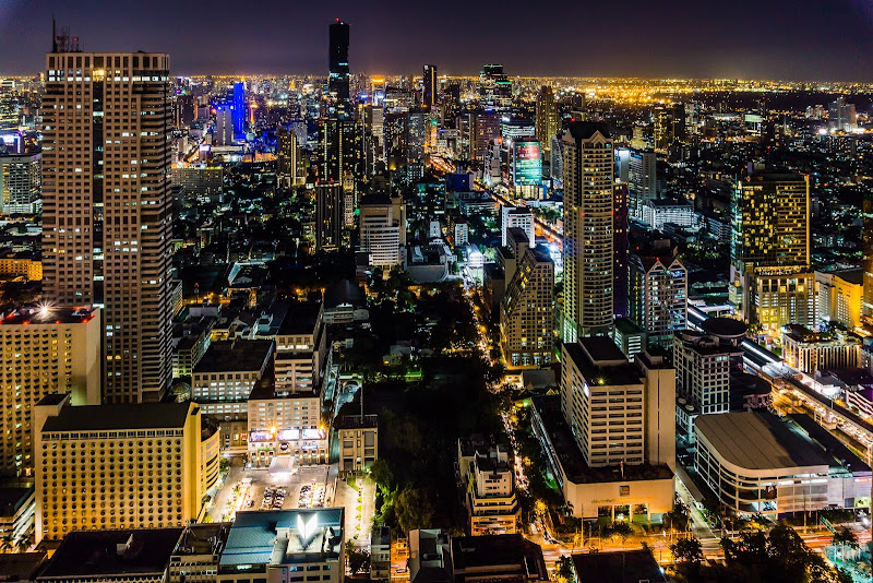 Bangkok at The skybar di Nico Angeli Photography