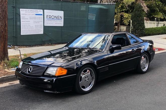 1991 Mercedes Benz 500SL Hire CA