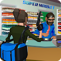 Supermarket Robbery Crime City Mafia Robbery Games icon