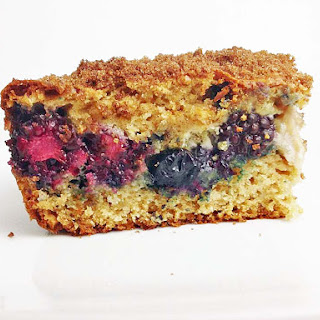 Berry Cream Cheese Coffee Cake