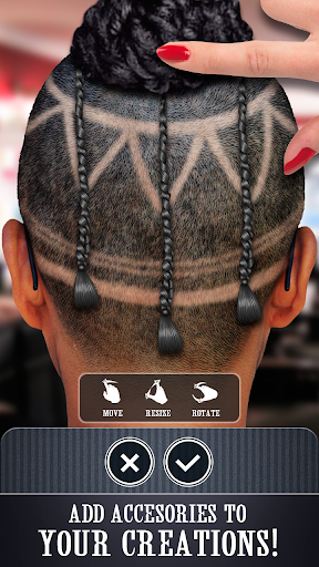 在她的頭髮上畫畫|玩娛樂App免費|玩APPs