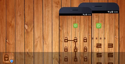 隱私衛士主題 - 經典木紋主題