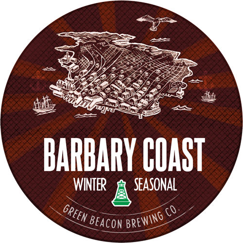 Logo of Green Beacon Barbary Coast Brown Ale