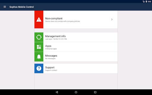Sophos Mobile Control screenshot 10