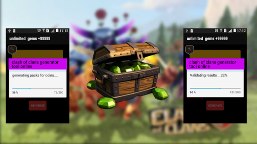 gems  clash of clans prank for PC