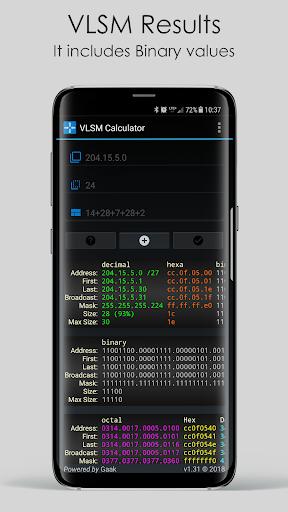 VLSM Calculator by Gaak (Google Play, United States