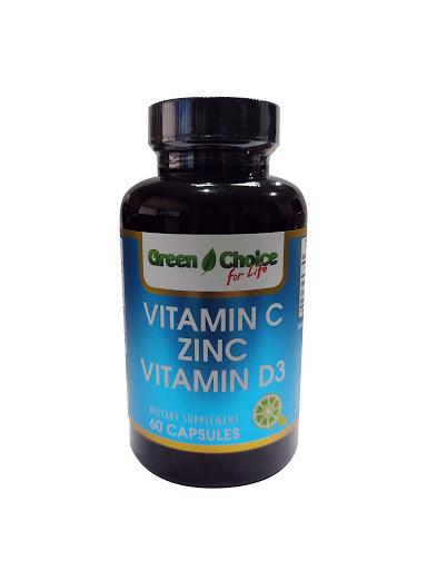 Vitamina C+Zinc+Vitamina Green Choice