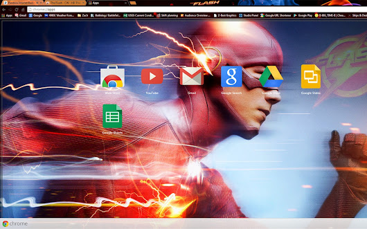 The FLash - CW - HD Theme