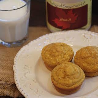 Pumpkin Pancake Muffins.