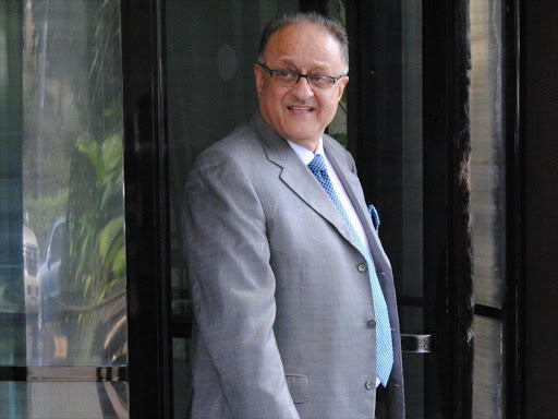 Anglo Leasing architect Deepak Kamani leaving the Integrity House. /FILE