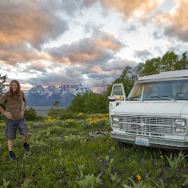 Camping spot by Casey Bebernes - People Street & Candids