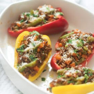 Easy Ground Turkey Stuffed Peppers Recipe