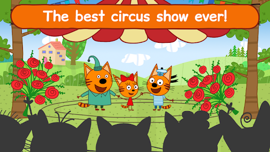 Kid-E-Cats Circus! Three Cats in Game for Kids! 1.2.2 Mod APK (Unlimited) 1