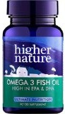 Higher Nature Omega 3 Fish Oil - Capsules