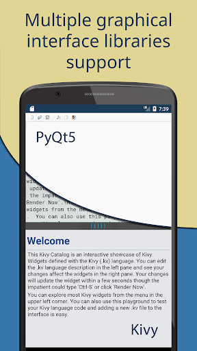 Pydroid 3 - Educational IDE for Python 3  screenshots 3