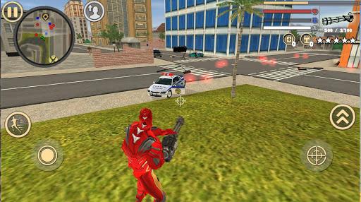 Code Triche Iron Rope Hero: Vice Town APK MOD screenshots 3