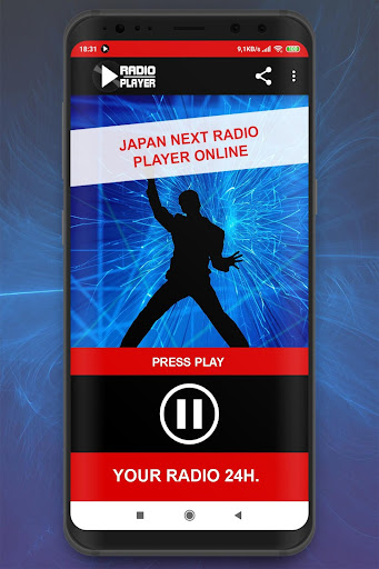 Live Japan Next Radio Player Online App App Report on Mobile Action