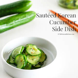Cucumber Side Dish Recipes.