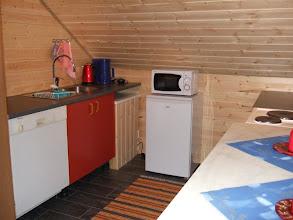 Photo: Köket i lägenheten http://norgehavsfiske.se/tromso_fiskecamp