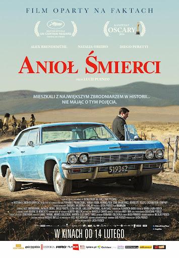 Polski plakat filmu 'Anioł Śmierci'