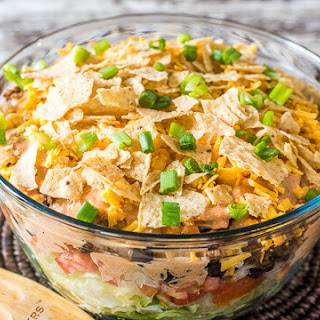Mexican Layered Salad Recipes