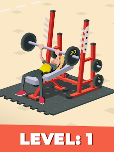 Idle Fitness Gym Tycoon – Workout Simulator Game MOD (Money) 5