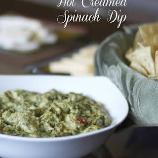 Hot Creamed Spinach Dip.