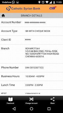 android CSB ePassbook Screenshot 5