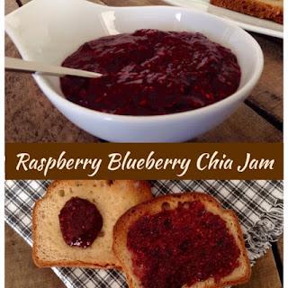 Raspberry Blueberry Chia Jam