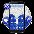 Blue Furry Zipper Theme icon