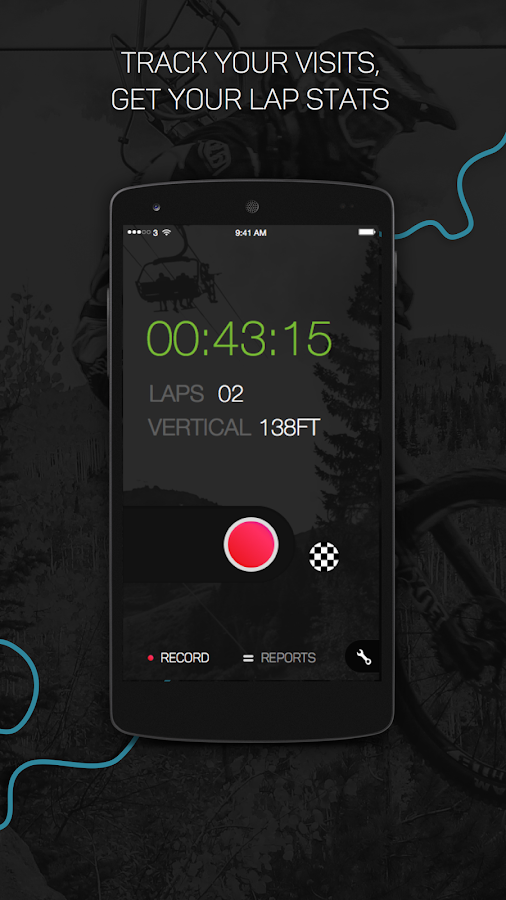 BikeParkPRO - Downhill GPS- screenshot