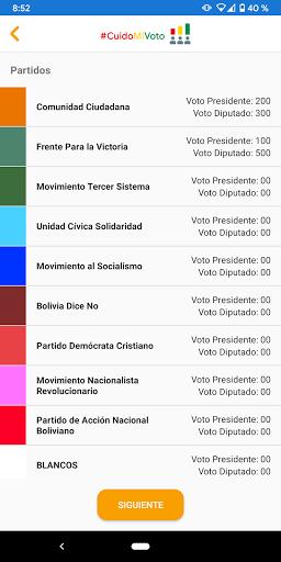 CuidoMiVoto screenshot 5