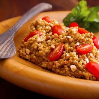 Sicilian Cherry Tomato & Almond Pesto with Couscous