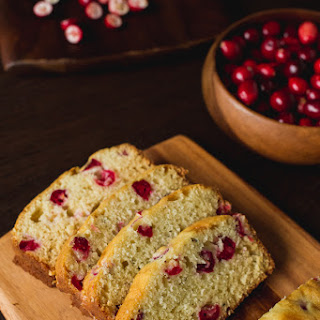 Fresh Cranberry Tea Cake.