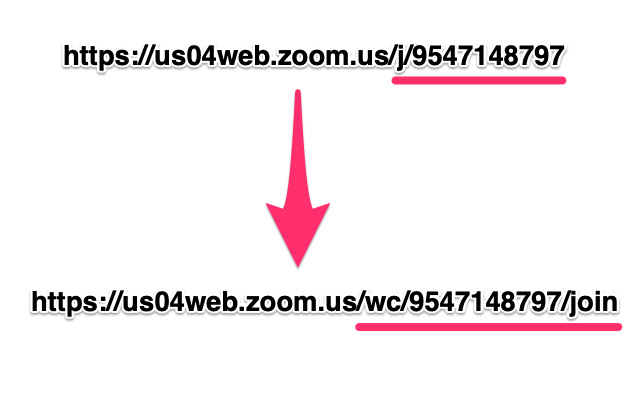 Zoom Redirector