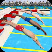 Schwimmen Pool Wettbewerb
