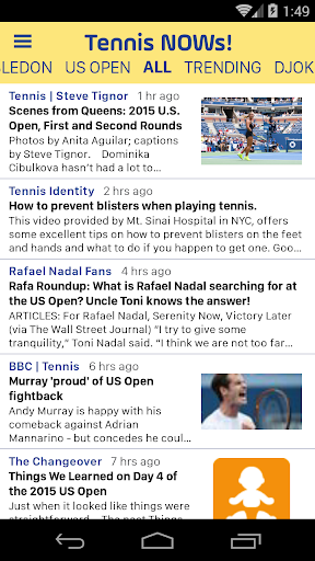 Tennis NOWs