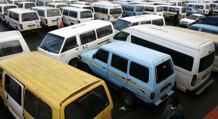 The Belville taxi rank has been closed after two commuters were caught in the crossfire of a taxi war in the area.