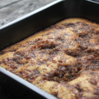Cinnamon and Brown Sugar Coffee Cake.