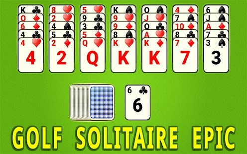 Golf Solitaire Epic - náhled