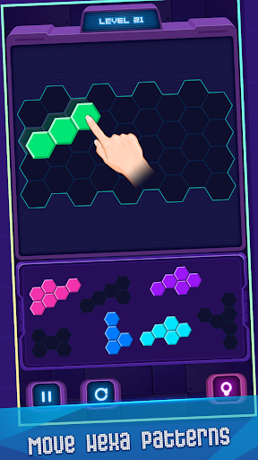 Hexa Puzzle screenshot 4