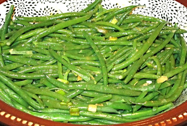 Green Beans With Sesame Sauce Recipe