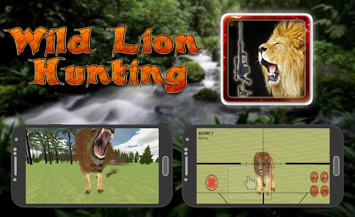 Wild Lion Hunting