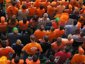 Photo: Oranje supporters.