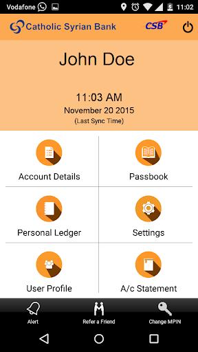 CSB ePassbook screenshot 4