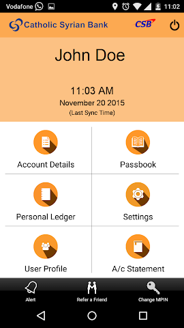 android CSB ePassbook Screenshot 3