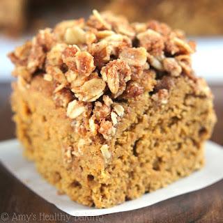 Slow Cooker Pumpkin Streusel Coffee Cake.