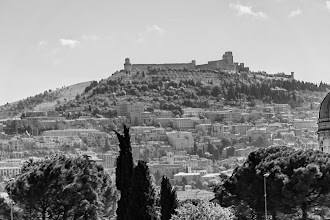 Photo: Assisi from a distance