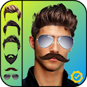 Men's Hair Styler and Mustache icon